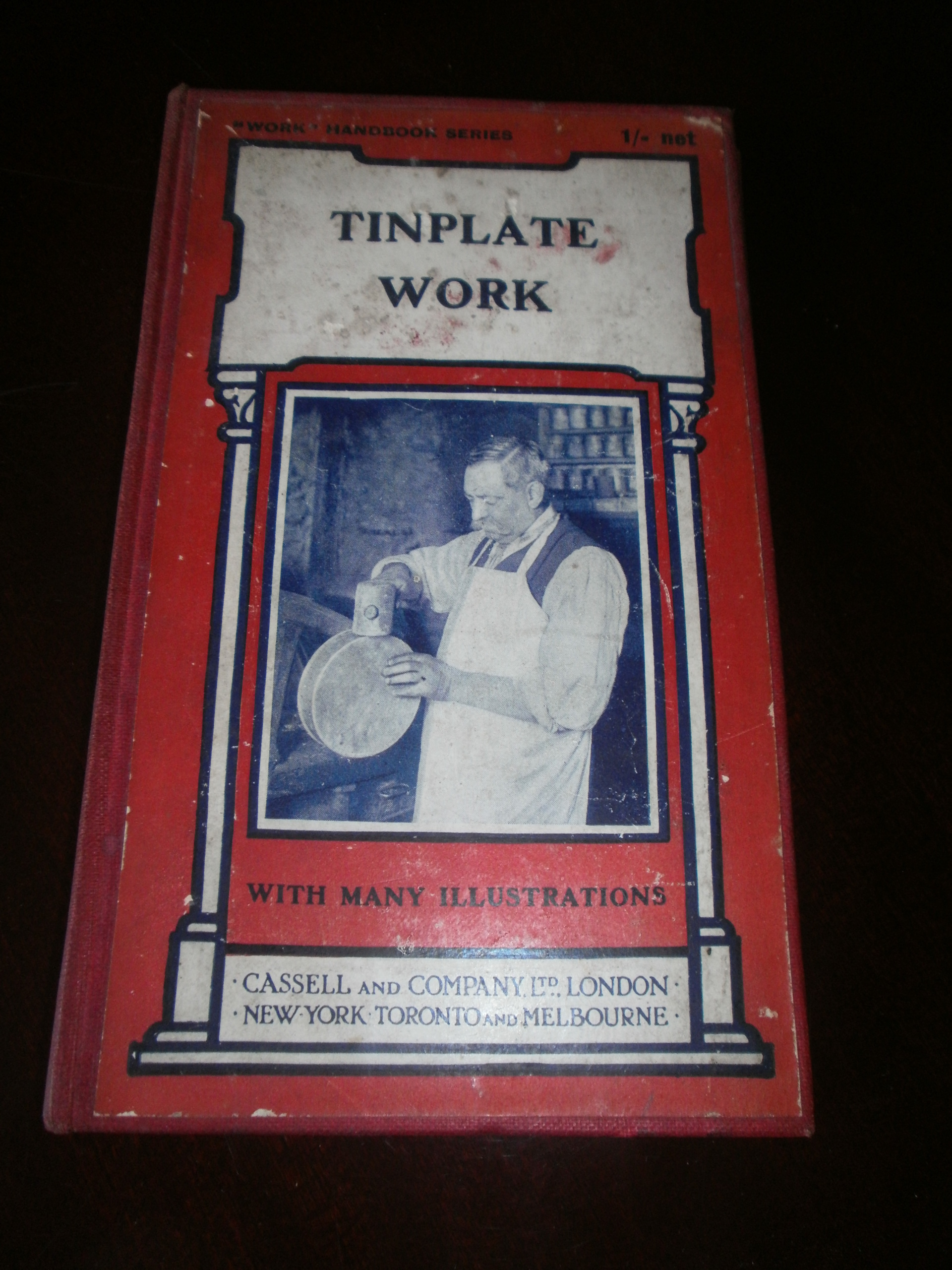 TINPLATE    WORK       WITH NUMEROUS       ENGRAVINGS    AND    DIAGRAMS    EDITED